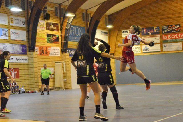 Damen 2 mit klarem Heimsieg gegen HSC Tubize (32:20)