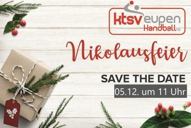 Save the date – Nikolausfeier für die Kleinen der KTSV