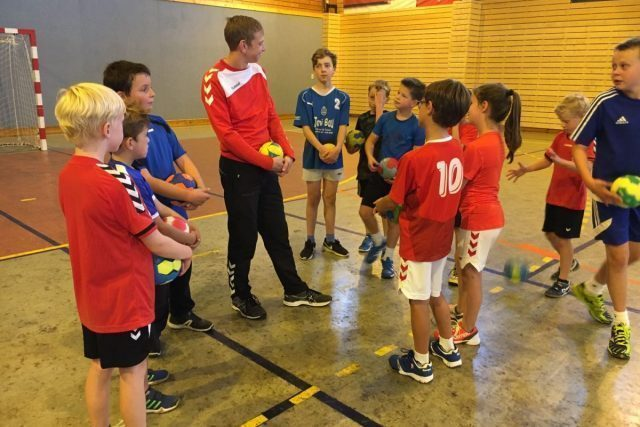 Handballlager vom 26.-30.08